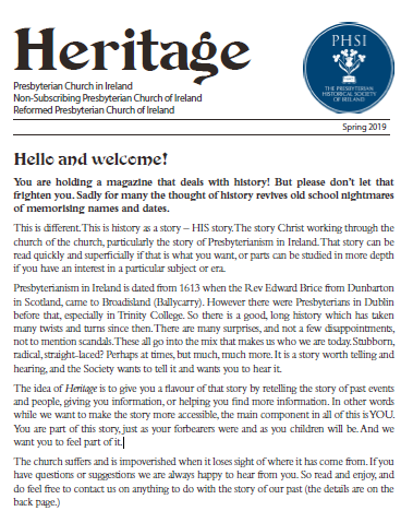 Heritage Magazine - Autumn 2019