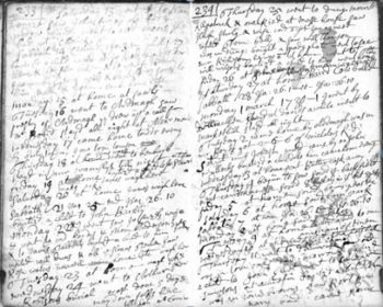 John Kennedy Diary Page