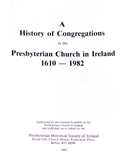 image - title page - History of Congregations