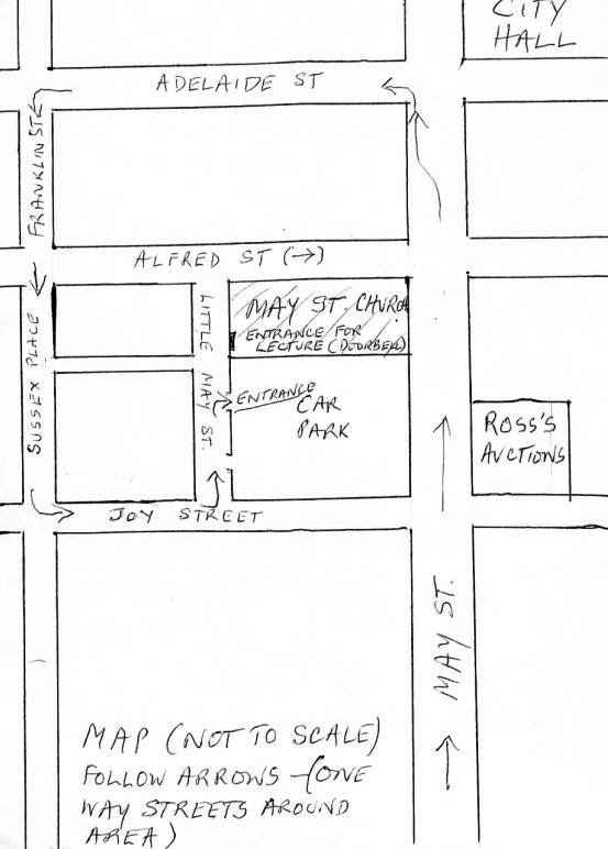 May Street Church Car Map