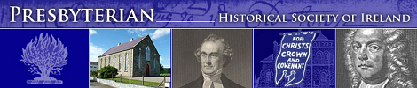 Click to go to the Presbyterian Historical Society of Ireland website