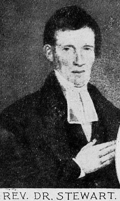 Rev Dr Stewart